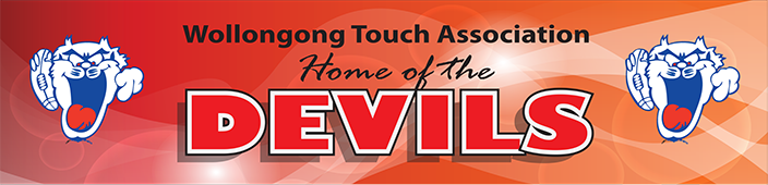 Wollongong Touch Association | Home of the Devils