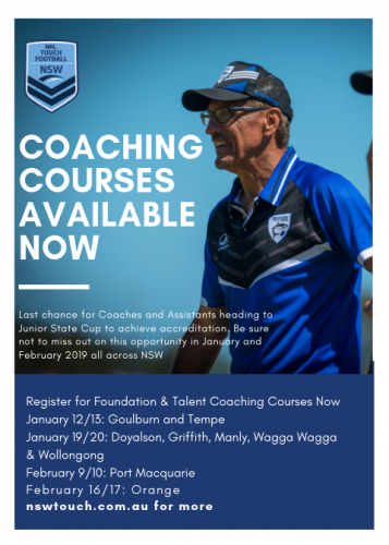 Coaching Courses in Wollongong!