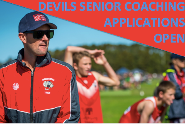 COACHING NOMINATIONS 2020 VAWDON CUP OPEN